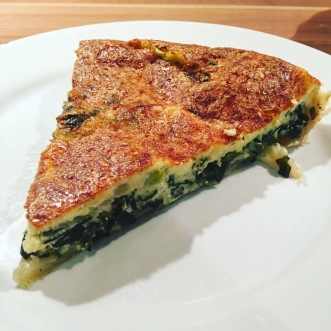 Portion Mangold Quiche