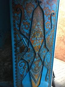 Wunderschöne Eingangstür