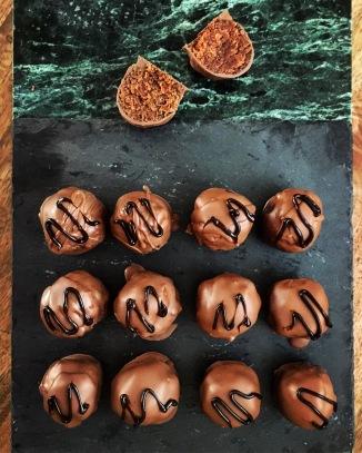 Schokolade-Pralinen