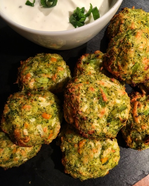 Brokkoli Cheese Balls